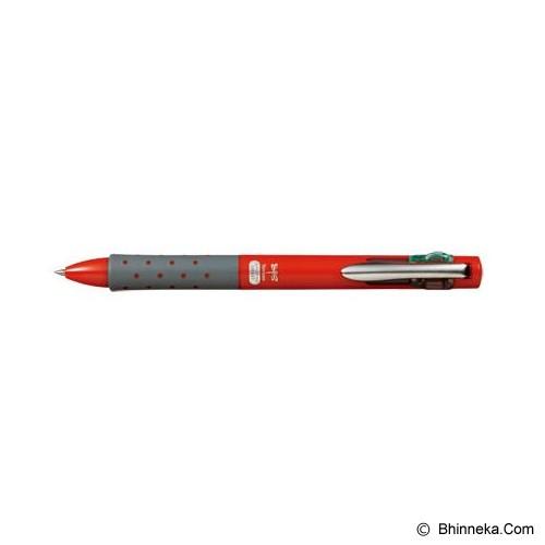 TOMBOW Reporter Smart 4 Pen [BC-FRL31] - Red - Pen / Ballpoint